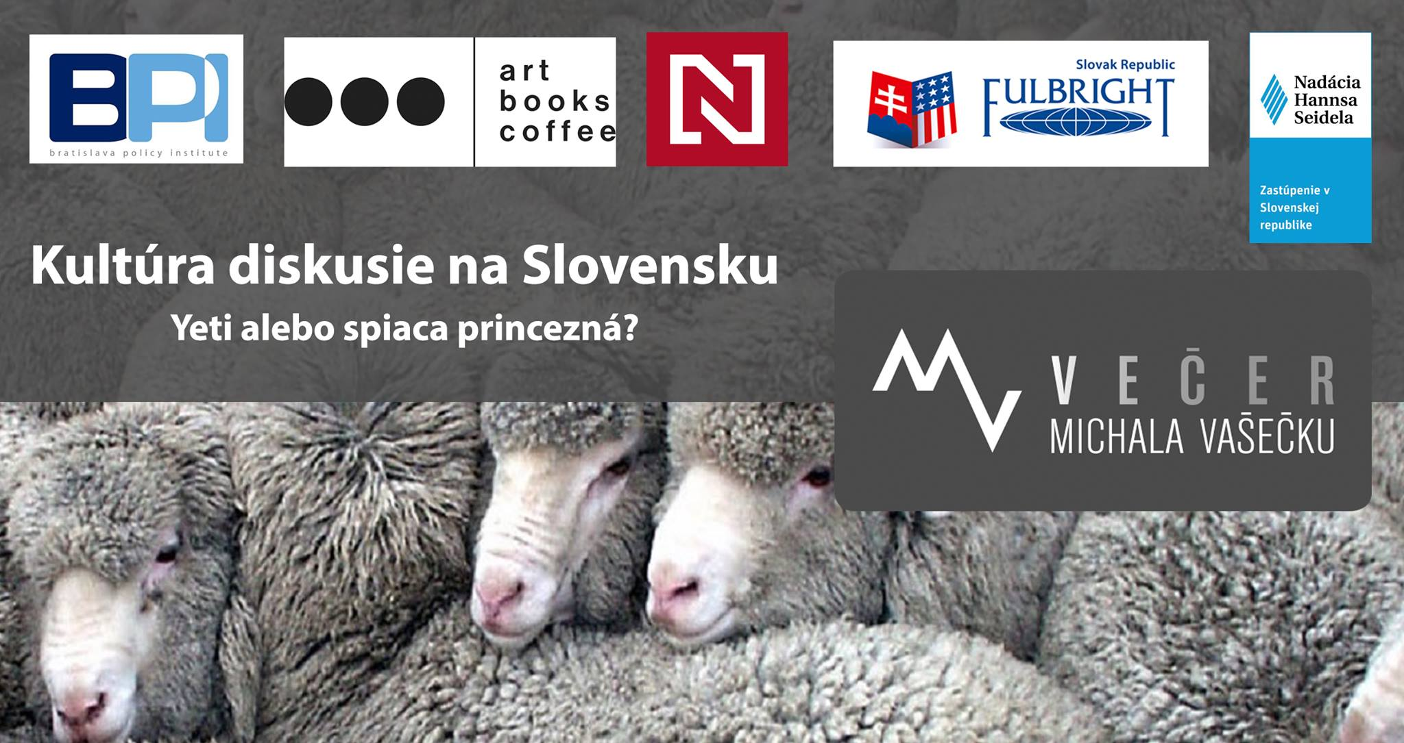 Večer Michala Vašečku: Kultúra diskusie na Slovensku.