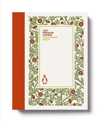 100 Penguin Covers Colouring Book